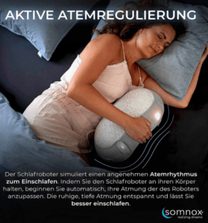 Robot para dormir más