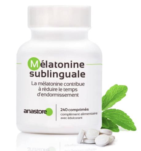Melatonina sublingual