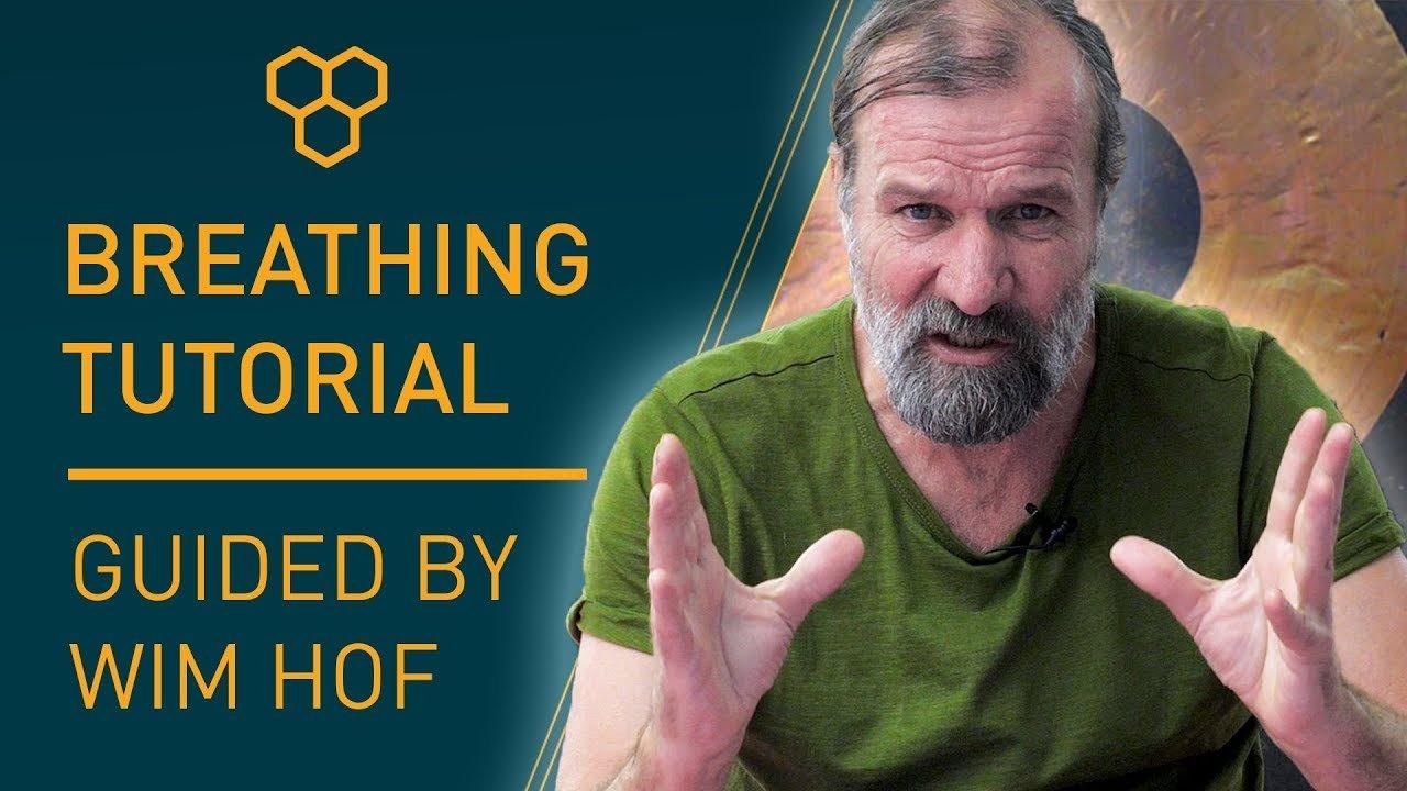 tutorial de respirar Wim Hof