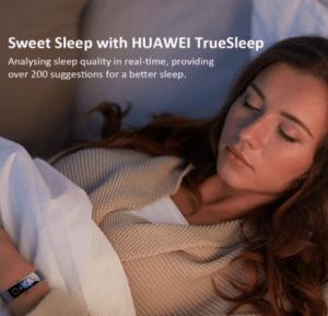 pulsera de sueño huawei