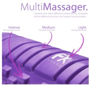 rodillo masajeador